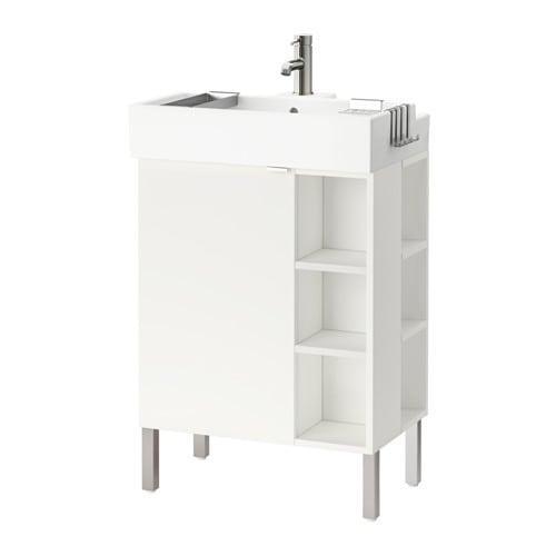 sale retailer 8df1a d67a2 LILLÅNGEN - 391.553.93 - SinK cabinet/1 door/2 end units, white | by Inma  Bermudez/IKEA of Sweden