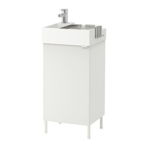 new concept 9cc9e 6502c LILLÅNGEN - 491.880.34 - Sink cabinet with 1 door, white | by IKEA of  Sweden/Inma Bermudez